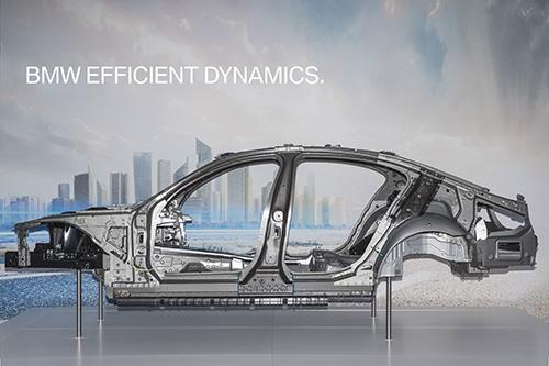 Hệ khung gầm siêu nhẹ trên BMW 7 series thế hệ mới.