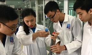 Học sinh Hà Nội thi nấu ăn, chế tạo trong ngày hội STEAM