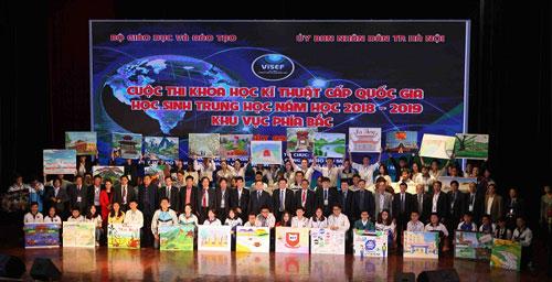 Cuộc thi khu vực phía bắc diễn ra từ 9/3 đến 12/3. Ảnh: Kim Anh.