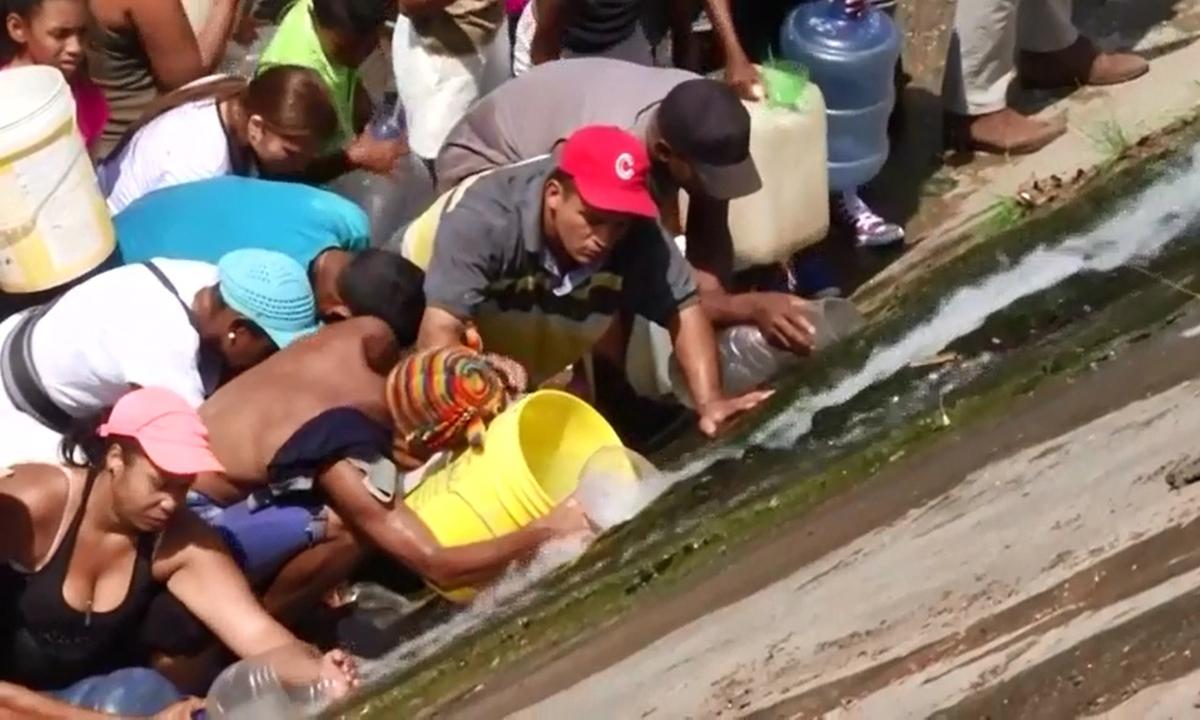 """Nước – tài sản """"quý như vàng"""" của người Venezuela"""
