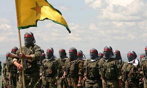 Các tay súng thuộc lực lượng SDF. Ảnh: Almasdar News.