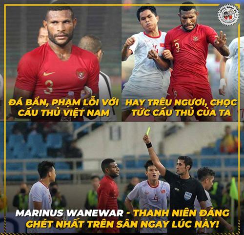 Cầu thủ không được lòng CĐV Việt Nam nhất đêm nay.