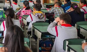 Cô giáo Trung Quốc bắt học sinh tự tát đến sưng mặt