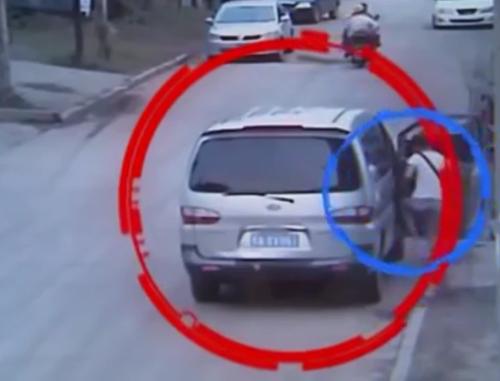 Hình ảnh chiếc xe được trích xuất từ camera.