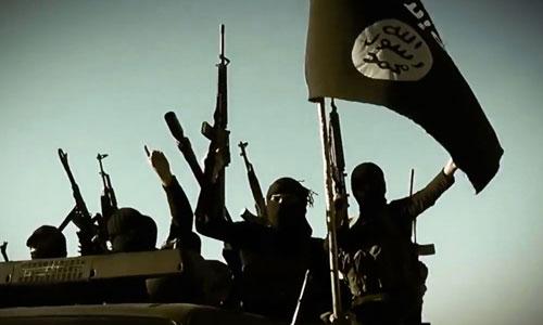 IS từng kiểm soát khu vực rộng lớn ở Iraq và Syria. Ảnh: Sun.