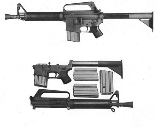 Thiết kế súng trường Model 608 do Colt đề xuất. Ảnh: Colt.