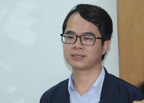 Bác sĩ Nguyễn Hồng Phong. Ảnh: Viết Tuân.