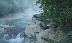 Hồ nước sôi tự nhiên có nhiệt độ tử thần tại Peru