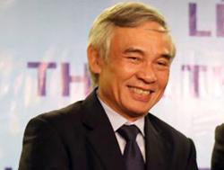 Ông Phạm Văn Thông hồi làm Chủ tịch Hội đồng quản trị Saigonbank. Ảnh: Người lao động.