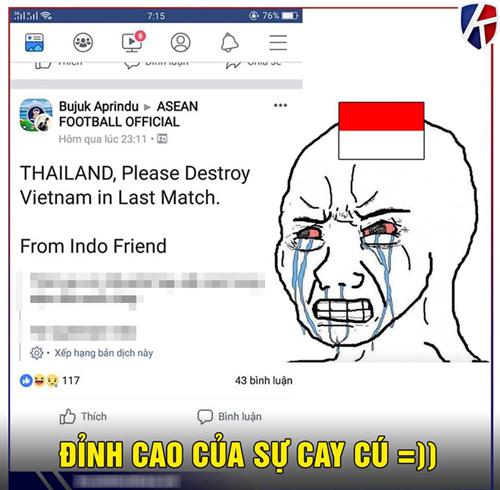 CĐV Indonesia viết tâm thư nhờ Thái Lan đánh bại U23 Việt Nam.