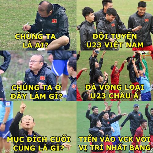 Chiến thắng 4-0 trước U23 Thái Lan khiến fan nức lòng khi thầy trò HLV Park tiến vào VCK U23 châu Á với vị trí nhất bảng.