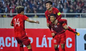 Việt Nam 4-0 Thái Lan