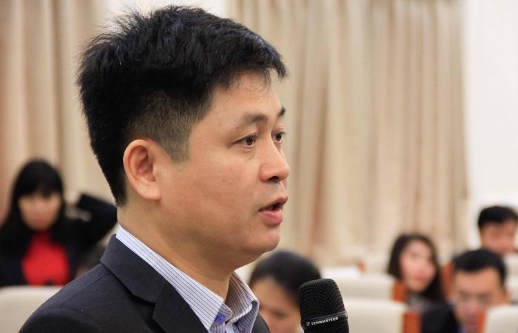 Vụ phó Giáo dục trung học Nguyễn Xuân Thành. Ảnh:Dương Tâm
