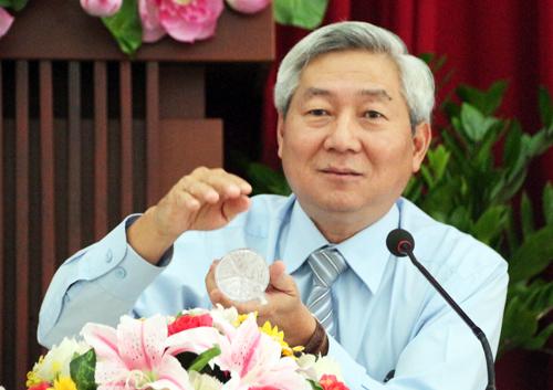 Ông Hoàng Như Cương, Phó ban kiêm Bí thư Đảng ủy Ban quản lý đường sắt đô thị TP HCM. Ảnh: Hữu Công.