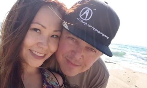 Tanya Nguyen và chồng. Ảnh: GoFundMe