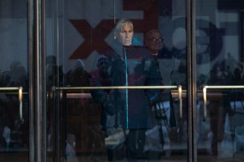 William Singer rời tòa án liên bang ở Boston ngày 12/3. Ảnh: NYT.