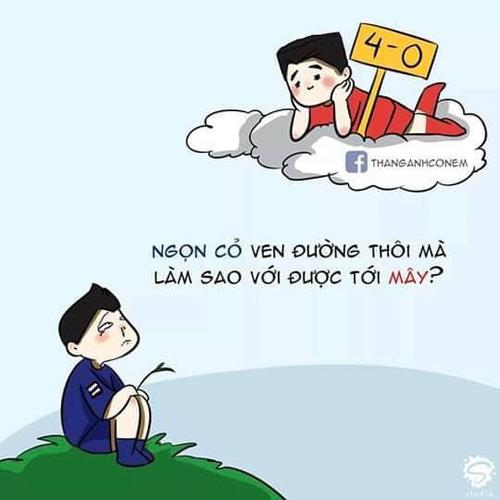 Trèo cao ngã đau thôi Thái Lan à.