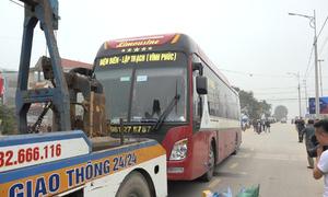 Xe khách có dấu hiệu tăng tốc trước khi đâm chết người ở Vĩnh Phúc