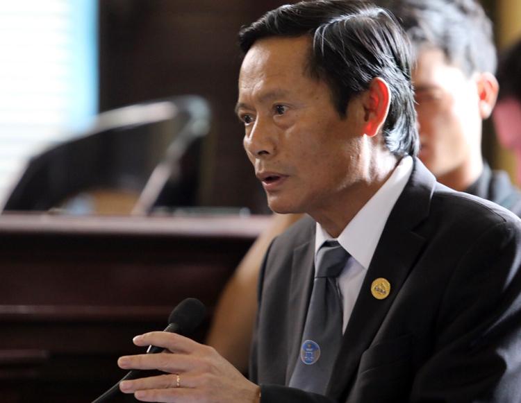 Luật sư Phan Trung Hoài. Ảnh: Thành Nguyễn.