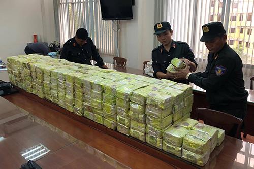 300 kg ma túy đá này sẽ được xuất ra nước ngoài. Ảnh:Q.T