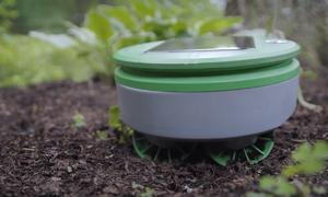 Robot cắt cỏ chạy bằng năng lượng mặt trời