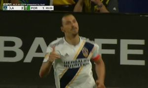 Ibrahimovic ghi bàn kiểu Panenka