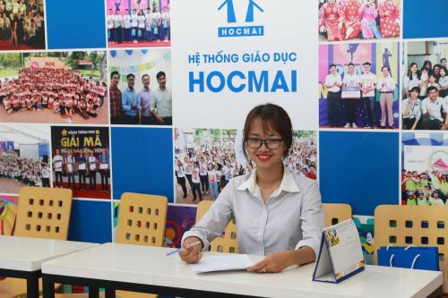 Cô Hàn Thị Hải Huyền, Giáo viên môn tiếng Anh tại Hocmai.vn.
