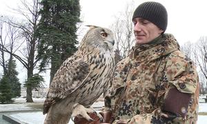 Biệt đội chim săn mồi tuần tra quanh Điện Kremlin