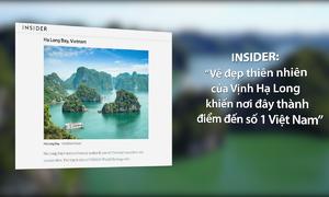 Vịnh Hạ Long được bình chọn 'kỳ quan thiên nhiên đẹp nhất thế giới'