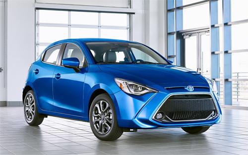 Toyota Yaris hatchback thế hệ mới.
