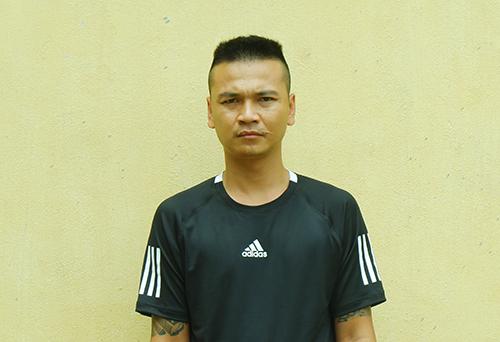 Nguyễn Đình Trình - người cầm đầu tổ chức xới bạc. Ảnh: Đại Hiệp.
