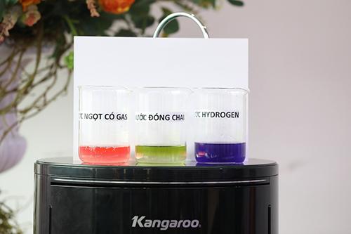?o ?? ki?m trong n??c Hydrogen t? tính c?a Kangaroo