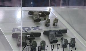 Kẻ gian ăn cắp súng ngay tại triển lãm quốc phòng Brazil