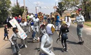 Dân Mexico nhảy múa cầu mong núi lửa không phun trào