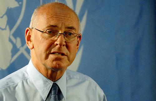 Ông Ian Martin, cựu giám đốc điều hành