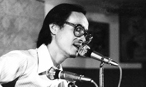 Nhạc sĩ Trịnh Công Sơn. Ảnh tư liệu.