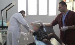 Bệnh viện miền đông Syria chật vật vì bệnh nhân ngày một nhiều