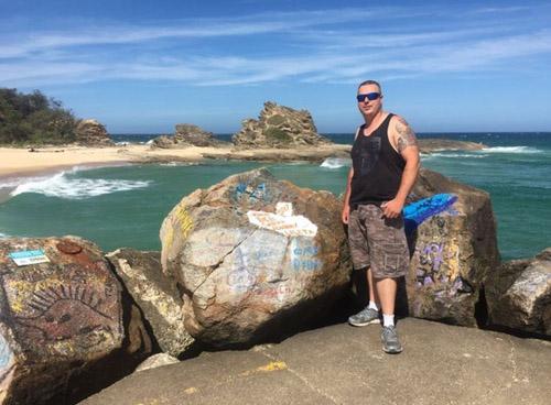 Robert Wilson, 32 tuổi, sống ở thành phố Melbourne, Australia. Ảnh: Facebook.
