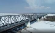 Cầu đường sắt đầu tiên nối Nga và Trung Quốc