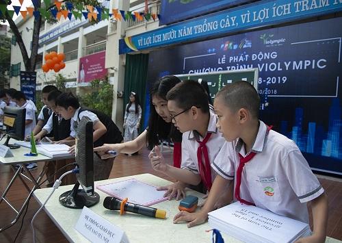 Cuộc thi Violympic dành cho học sinh từ lớp 1 đến 12.