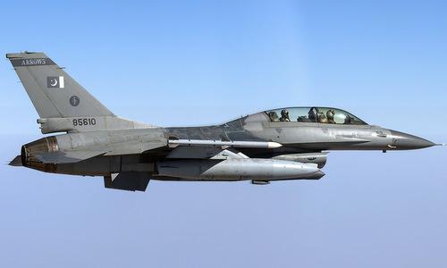 Tiêm kích F-16BM trong biên chế không quân Pakistan. Ảnh: Wikipedia.