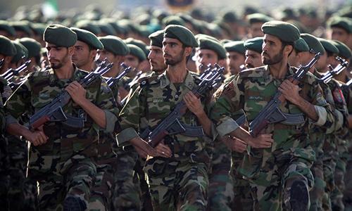 Lực lượng Quân đoàn Vệ binh Cách mạng Iran. Ảnh: Reuters.