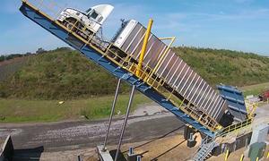 Hệ thống nâng bổng xe tải chở 80 tấn hàng hóa