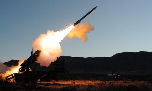 Tên lửa Patriot Mỹ bắn thử hồi năm 2017. Ảnh: Lockheed Martin.