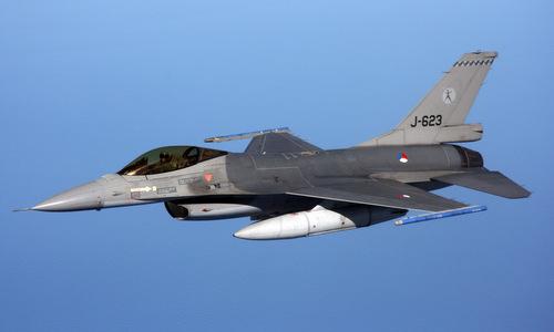 Tiêm kích F-16AM của không quân Hà Lan hồi năm 2017. Ảnh: USAF.