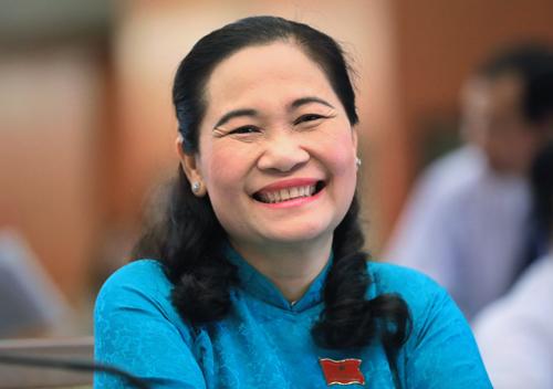 Bà Nguyễn Thị Lệ, Trưởng ban Tổ chức Thành ủy TP HCM.