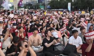 Dân Hàn Quốc đấu tranh đòi hợp pháp hóa việc phá thai