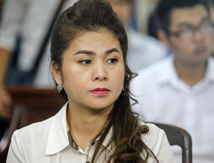 Bà Thảo tại tòa. Ảnh: Thành Nguyễn.