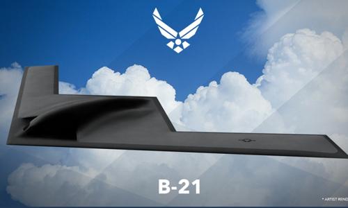 Thiết kế B-21 do không quân Mỹ công bố. Ảnh: Wikipedia.