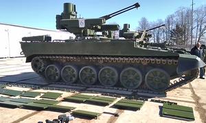 Nga 'trang điểm' cho thiết giáp Kẻ hủy diệt sắp duyệt binh ở Quảng trường Đỏ